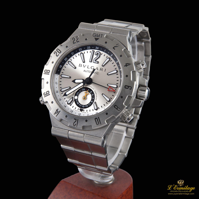 3d617ce5ac7 reloj bulgari diagono professional gmt