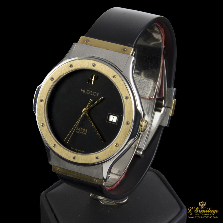 279068cc606a reloj hublot acero y oro
