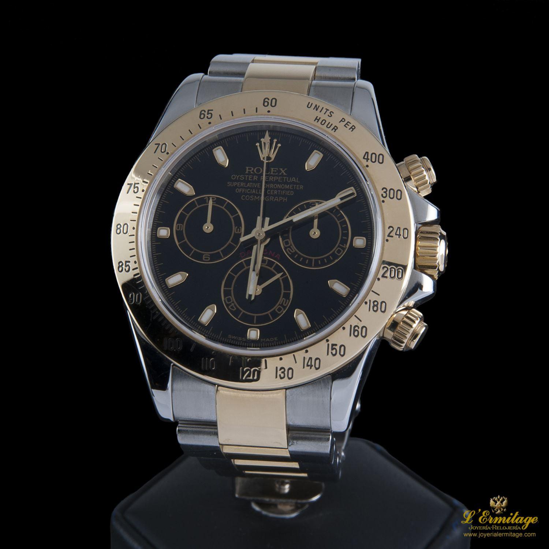 Rolex Daytona Oro Y Acero