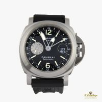 PANERAI<BR>LUMINOR GMT 44MM ACERO AUTOMATICO · ref.: PAM 00297