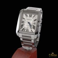 Cartier TANK ANGLAISE XL ACERO AUTO... · ref.: W5310008