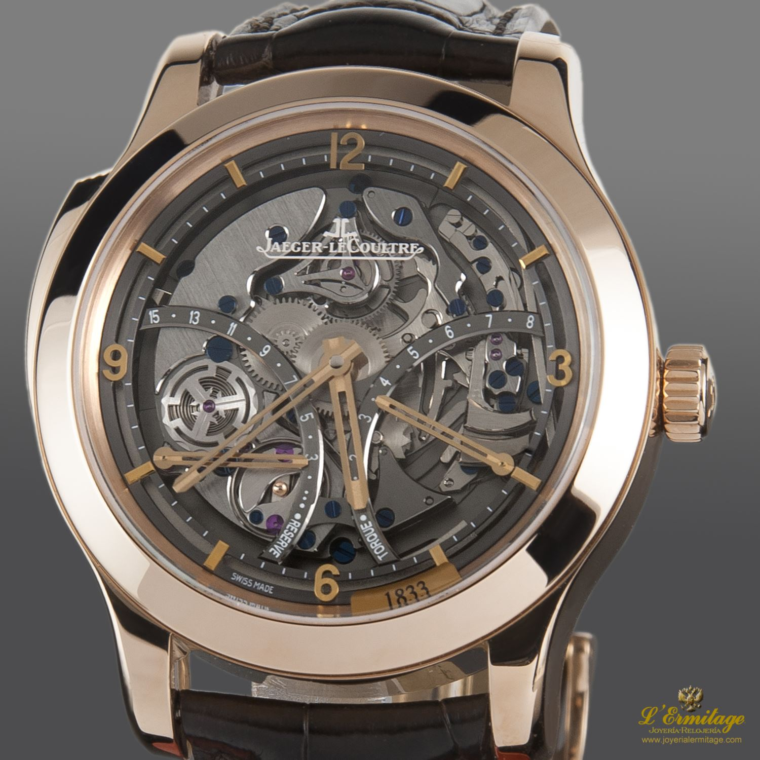 Jaeger Lecoultre Master Minute Repeater Antoine Lecoultre