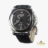 PANERAI<BR>LUMINOR 1950 8 DAYS GMT ACERO CUERDA M... · ref.: PAM00233