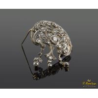 BROCHE-ALFILER DIAMANTES · ref.: (NMXM)
