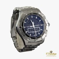 TAG HEUER<BR>AQUARACER 300M CHRONOGRAPH 1/100 SECON... · ref.: CAF 1010