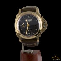 Panerai LUMINOR 1950 8 DÍAS GMT ORO... · ref.: PAM 00289