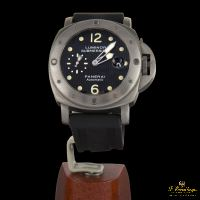 PANERAI<BR>LUMINOR SUBMERSIBLE 1950 3 DAYS AUTOMA... · ref.: PAM 00025