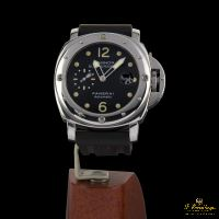 PANERAI<BR>LUMINOR SUBMERSIBLE ACERO. · ref.: PAM 00024