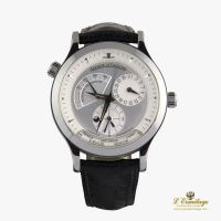 JAEGER-LECOULTRE<BR>MASTER GEOGRAPHIC ACERO 38MM. · ref.: 142.8.92
