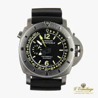 PANERAI<BR>DEPTH GAUGE SUBMERSIBLE LUMINOR 1950 T...